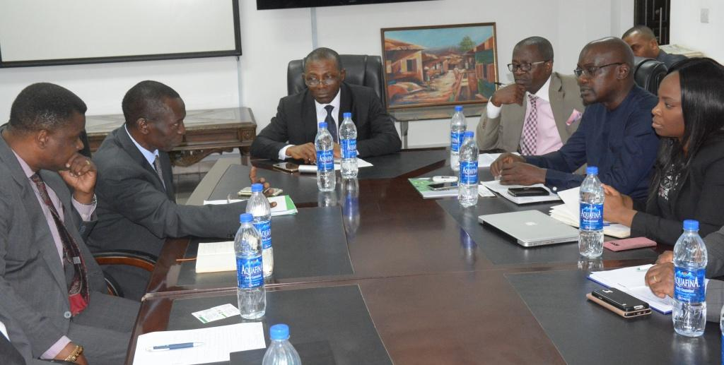 World Bank Financial Mgt Team visits OAuGF